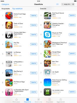 Apple iPad mini iOS 7 - Applicazioni - Configurazione del negozio applicazioni - Fase 4