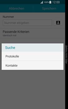 Samsung N915FY Galaxy Note Edge - Anrufe - Anrufe blockieren - Schritt 10