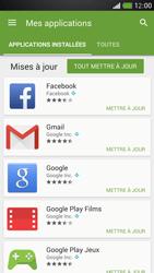 HTC One Mini - Applications - Comment vérifier les mises à jour des applications - Étape 6