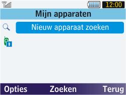 Samsung S3570 Chat 357 - bluetooth - aanzetten - stap 5