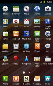 Samsung N7000 Galaxy Note - Internet - Manual configuration - Step 3