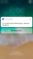 """Apple iPhone 8 - iOS 11 - Nicht stören – Sicheres Fahren – """"Do Not Disturb while Driving"""" deaktivieren (für Fahrer) - 4 / 6"""