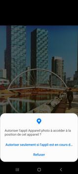 Samsung Galaxy A51 5G - Photos, vidéos, musique - Créer une vidéo - Étape 6