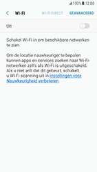 Samsung Galaxy S7 - Android Nougat - wifi - handmatig instellen - stap 6