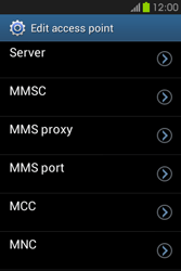 Samsung S6810P Galaxy Fame - Internet - Manual configuration - Step 13