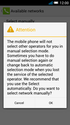 Alcatel Pop C7 - Network - Manual network selection - Step 8