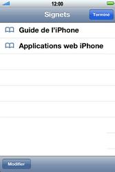 Apple iPhone 4 S - Internet - Navigation sur Internet - Étape 2