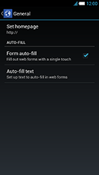 Alcatel One Touch Idol S - Internet and data roaming - Manual configuration - Step 23