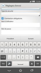 Sony Xperia Z2 - E-mail - configuration manuelle - Étape 13