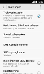 Huawei Ascend Y330 - SMS - SMS-centrale instellen - Stap 8