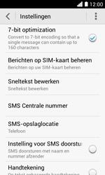 Huawei Ascend Y330 - SMS - Handmatig instellen - Stap 8