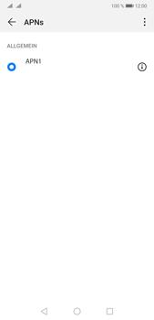 Huawei P20 Pro - Android Pie - Internet und Datenroaming - Manuelle Konfiguration - Schritt 7