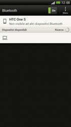 HTC One S - Bluetooth - Collegamento dei dispositivi - Fase 7