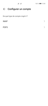 Huawei P40 Pro - E-mails - Ajouter ou modifier un compte e-mail - Étape 7