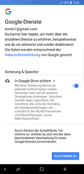 Samsung Galaxy S8 Plus - Android Oreo - E-Mail - 032a. Email wizard - Gmail - Schritt 12