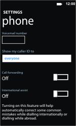 Nokia Lumia 710 - Voicemail - Manual configuration - Step 8