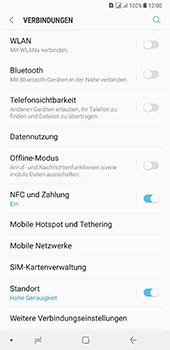 Samsung Galaxy A8 Plus (2018) - Netzwerk - Netzwerkeinstellungen ändern - Schritt 5
