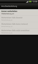 HTC C525u One SV - Anrufe - Rufumleitungen setzen und löschen - Schritt 8