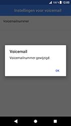 Sony Xperia XZ - Android Oreo - Voicemail - handmatig instellen - Stap 12