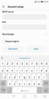Huawei Mate 10 Pro - E-mail - Manual configuration IMAP without SMTP verification - Step 15