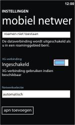 Nokia Lumia 710 - netwerk en bereik - gebruik in binnen- en buitenland - stap 5