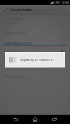 Sony Xperia Z3 - Netzwerk - Manuelle Netzwerkwahl - Schritt 11
