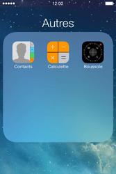 Apple iPhone 4S - Contact, Appels, SMS/MMS - Ajouter un contact - Étape 4