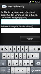Sony Xperia J - E-Mail - Konto einrichten - Schritt 15