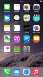Apple iPhone 6 Plus iOS 8 - Applications - configuring the Apple iCloud Service - Step 1