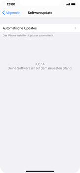 Apple iPhone 12 Pro - Software - Installieren von Software-Updates - Schritt 6