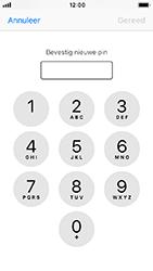 Apple iphone-se-met-ios-12-model-a1723 - Beveiliging en ouderlijk toezicht - Hoe wijzig ik mijn SIM PIN-code - Stap 10