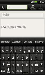HTC C525u One SV - E-mail - envoyer un e-mail - Étape 4