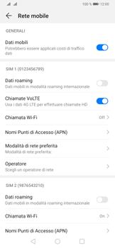 Huawei P30 - Internet e roaming dati - Come verificare se la connessione dati è abilitata - Fase 6
