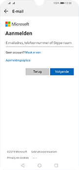 Huawei Y6 (2019) - E-mail - e-mail instellen (outlook) - Stap 5