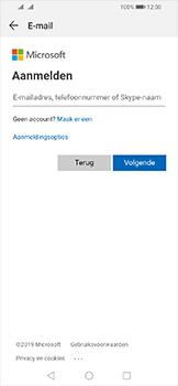 Huawei Y6 (2019) - E-mail - Handmatig instellen (outlook) - Stap 5