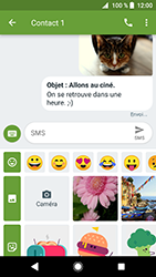 Sony Xperia XZ Premium - Android Oreo - MMS - envoi d'images - Étape 17