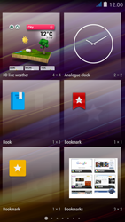 Wiko jimmy - Getting started - Installing widgets and applications on your start screen - Step 4