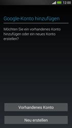 HTC One - Apps - Konto anlegen und einrichten - 4 / 25