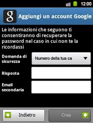 Samsung Galaxy Y - Applicazioni - Configurazione del negozio applicazioni - Fase 10