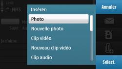 Nokia N97 - MMS - envoi d'images - Étape 14