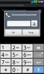 LG P970 Optimus Black - Voicemail - handmatig instellen - Stap 7