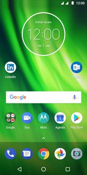 Motorola Moto G6 Play - Wi-Fi - Como configurar uma rede wi fi - Etapa 1