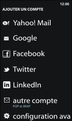 Nokia Lumia 800 / Lumia 900 - E-mail - Configuration manuelle - Étape 6