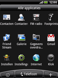 HTC A3333 Wildfire - Internet - aan- of uitzetten - Stap 3