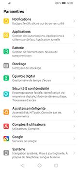 Huawei P30 lite - Sécuriser votre mobile - Personnaliser le code PIN de votre carte SIM - Étape 3
