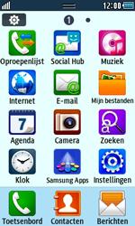 Samsung S5250 Wave 525 - SMS - Handmatig instellen - Stap 3