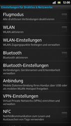 Sony Xperia S - WLAN - Manuelle Konfiguration - 1 / 1