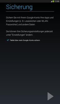 Samsung T211 Galaxy Tab 3 7-0 - Apps - Konto anlegen und einrichten - Schritt 22