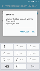Samsung Galaxy S7 - Beveiliging en ouderlijk toezicht - Hoe wijzig ik mijn SIM PIN-code - Stap 8