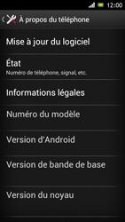 Sony Xperia J - Logiciels - Installation de mises à jour - Étape 6